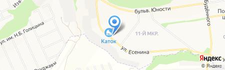 Есенинский на карте Белгорода