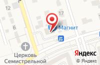 Схема проезда до компании Русские гвозди в Дубовом