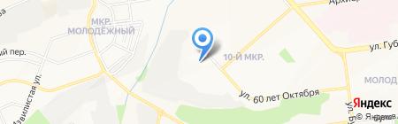 Макси Дент на карте Белгорода