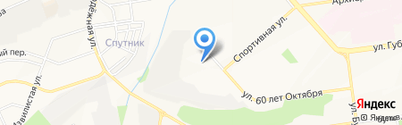 Виноград на карте Белгорода