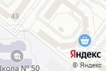 Схема проезда до компании Далматинец в Белгороде