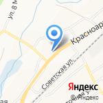 Автолидер на карте Белгорода