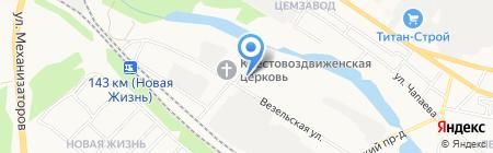 Мебельстрой на карте Белгорода