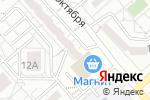 Схема проезда до компании Участковый пункт полиции №1 в Белгороде
