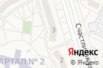Схема проезда до компании Колибри в Дубовом
