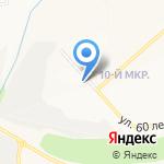 Большие кружки на карте Белгорода