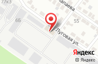 Схема проезда до компании Эсм в Белгороде