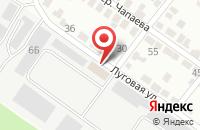 Схема проезда до компании Комфорт Сервис в Белгороде