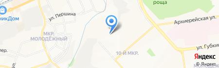 Василина на карте Белгорода