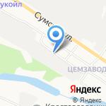 Техстройконтракт на карте Белгорода