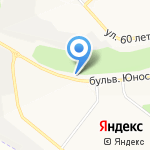 Автокод 31 на карте Белгорода
