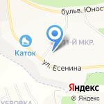 Раздолье на карте Белгорода