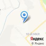 Частичка Стиля на карте Белгорода