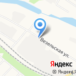 Белэнергомаш на карте Белгорода