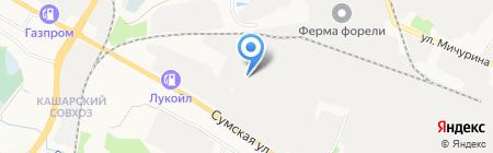 Евробетон на карте Белгорода