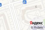 Схема проезда до компании Магазин продуктов в Дубовом