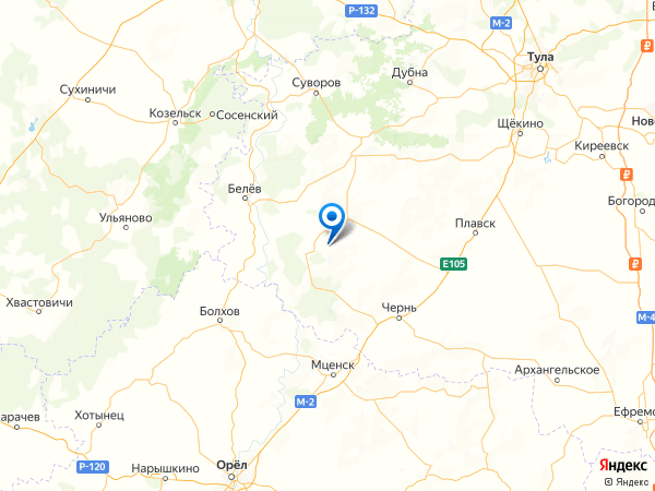 село Варварино на карте