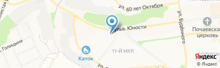 Гиппократ на карте Белгорода