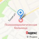 Областной кожно-венерологический диспансер на карте Белгорода
