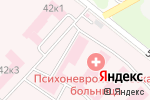 Схема проезда до компании Белгородская областная клиническая психоневрологическая больница в Белгороде