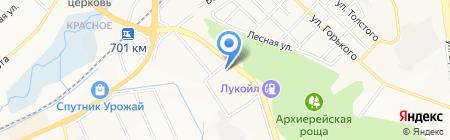 Авто на карте Белгорода