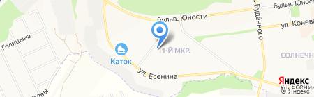 Анжелика и Король на карте Белгорода