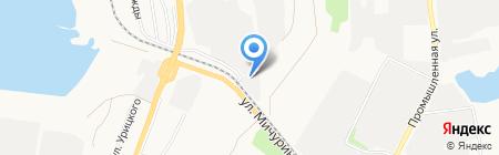 Промхим на карте Белгорода