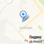 Библиотека №20 на карте Белгорода