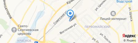 Центр детского технического творчества на карте Белгорода