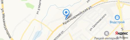 Металлист на карте Белгорода
