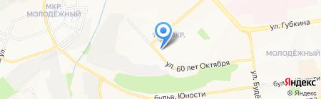 Надежда на карте Белгорода