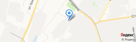 Автофор на карте Белгорода