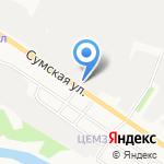 ДМБ на карте Белгорода