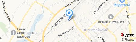 Парикмахерская на карте Белгорода