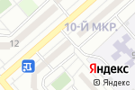 Схема проезда до компании Любимый малыш в Белгороде