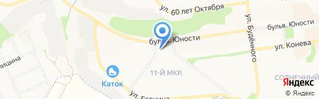 Доступные цены на карте Белгорода