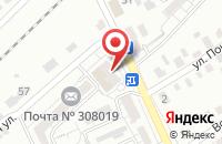 Схема проезда до компании Транс-Югкомплект в Белгороде