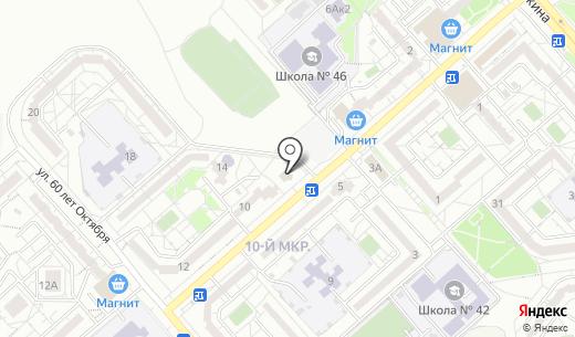 ФОН Лайв. Схема проезда в Белгороде