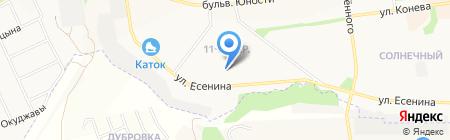 Городская поликлиника №8 на карте Белгорода