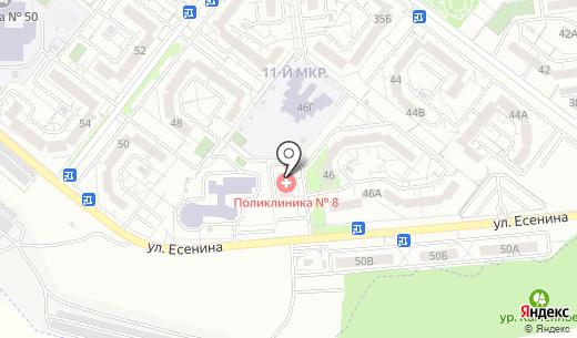 Городская поликлиника №8. Схема проезда в Белгороде