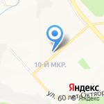 Пивной залив на карте Белгорода