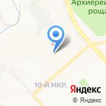 Средняя общеобразовательная школа №46 на карте Белгорода