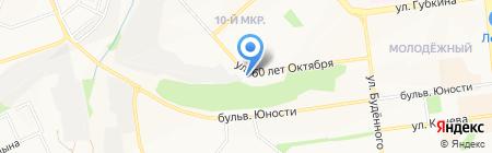 Tuning-MG на карте Белгорода