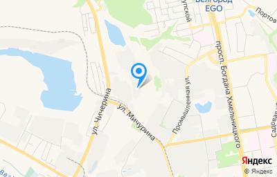 Местоположение на карте пункта техосмотра по адресу г Белгород, ул Чичерина, д 50Г