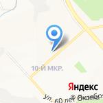 Кронал на карте Белгорода