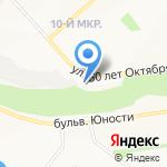 Фуршет на карте Белгорода