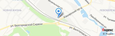 Полковник на карте Белгорода