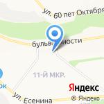 Любимый доктор на карте Белгорода