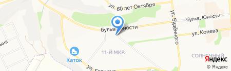 БелоДвери на карте Белгорода