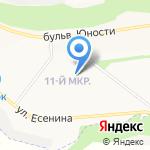 БАХУС на карте Белгорода